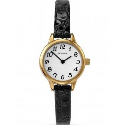 Sekonda Ladies Gold Plated Strap Watch 4473