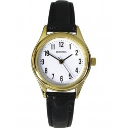 Sekonda Ladies Gold Plated Strap Watch 4493