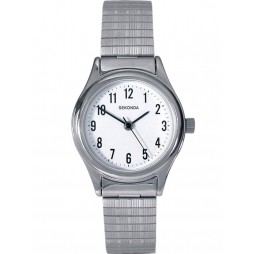 Sekonda Ladies White Dial Bracelet Watch 4601