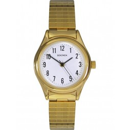 Sekonda Ladies Gold Plated Expandable Watch 4602