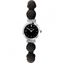 Sekonda Ladies Black Crystalla Watch 4717