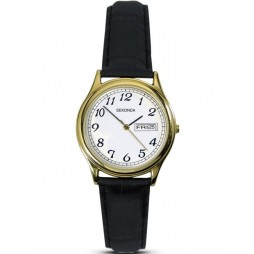 Sekonda Ladies Gold Plated Strap Watch 4925