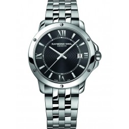 Raymond Weil Mens Tango Stainless Steel Bracelet Watch 5591-ST-000607