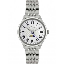 Rotary Mens Beaumont Moonphase Watch GB02849-01