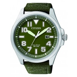 Citizen Mens Fabric Strap Watch AW1410-32X