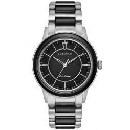 Citizen Ladies Ceramic Bracelet Watch EM0741-51E