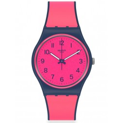 Swatch Ladies Pink Gum Watch GN264