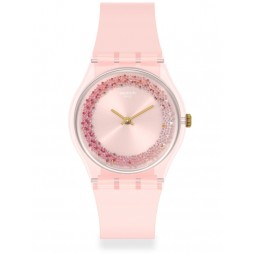 Swatch Ladies Kwartzy Strap Watch GP164