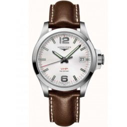 Longines Mens Conquest Strap Watch L37164765