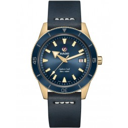 Rado Mens Captain Cook Strap Watch R32504205