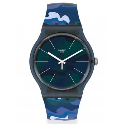 Swatch Mens Camouclouds Watch SUON140