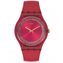 Swatch Ladies Ruby Rings Watch SUOP111
