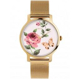 Timex Ladies Floral Watch TW2U19100
