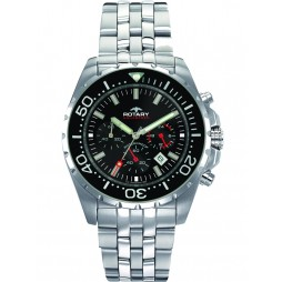 Rotary Mens Chronograph Watch AGB00013-C-04