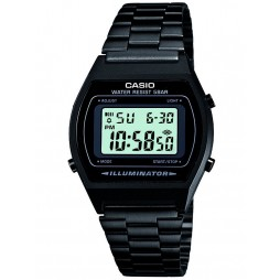Casio Gents Black Steel Digital Display Watch B640WB-1AEF
