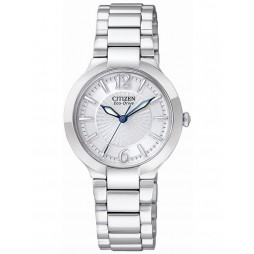 Citizen Ladies Silver Dial Watch EP5980-53A