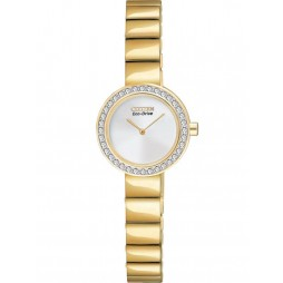 Citizen Ladies Gold Tone Bracelet Watch EX1262-59A