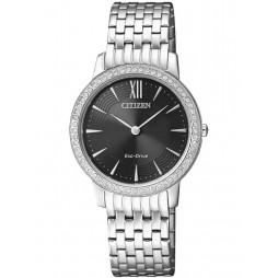 Citizen Ladies Silhouette Bracelet Watch EX1480-58E