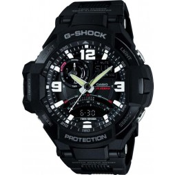 Casio Mens G-Shock Sky Cockpit Watch GA-1000FC-1AER