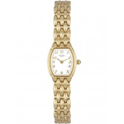 Rotary Ladies Gold Tone Watch LB00779-18