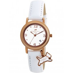 Radley Ladies White Strap Watch RY2006