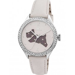 Radley Ladies Cream Leather Strap Watch RY2205