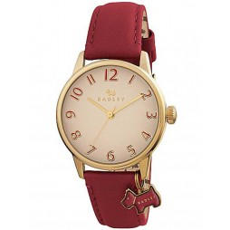 Radley Ladies Red Strap Watch RY2250