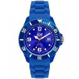 Ice-Watch Unisex Rubber Strap Watch SI.BE.S.S.12
