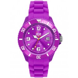 Ice-Watch Ladies Purple Rubber Strap Watch SI.PE.S.S.12