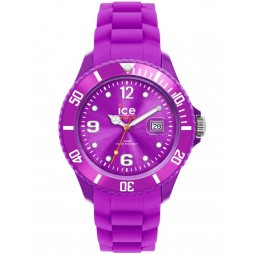 Ice-Watch Unisex Purple Sili Watch SI.PE.U.S.12
