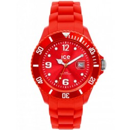 Ice-Watch Unisex Rubber Strap Watch SI.RD.S.S.12