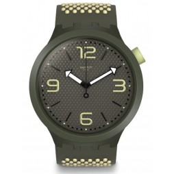 Swatch Mens Bbblanco Watch SO27M102