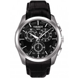 Tissot Mens T-Classic Couturier Strap Watch T035.617.16.051.00