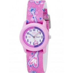 Timex Childrens Pink Ballerina Strap Watch T7B151