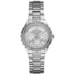 Guess Ladies Multi Dial Watch W0111L1