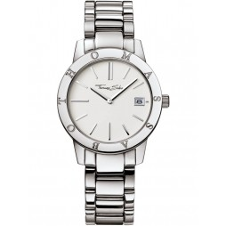 Thomas Sabo Ladies White Dial Bracelet Watch WA0004-201-202