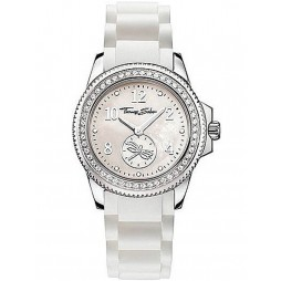 Thomas Sabo Ladies Rubber Strap Watch WA0145-207-202-33 MM