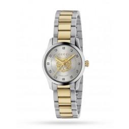 Gucci Ladies Timeless Two Tone Watch YA1265016