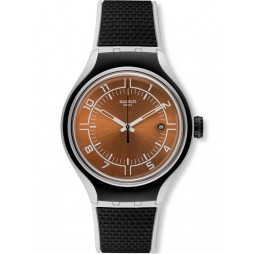 Swatch Men's Go Jog Black Watch YES4002