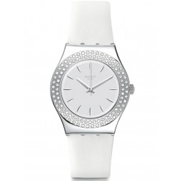 Swatch Ladies Star Party Strap Watch YLS217