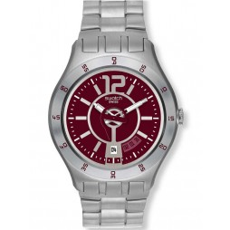 Swatch In A Burgundy Mode Watch YTS405G