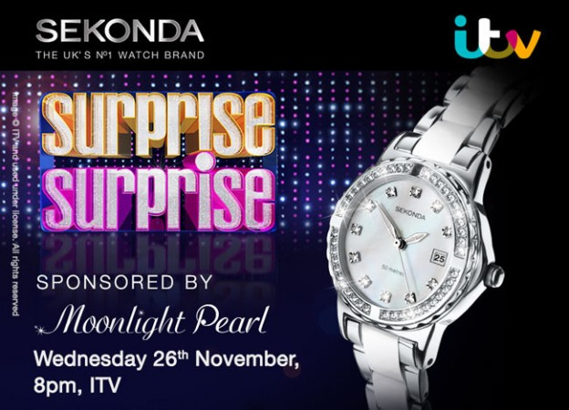Surprise Surprise, Sponsored by Sekonda Moonlight Pearl