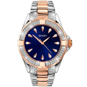 Sekonda Seksy Ladies Intense Two Tone Bracelet Watch 2140