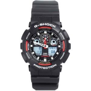 Casio Mens G-Shock Watch GA-100-1A4ER