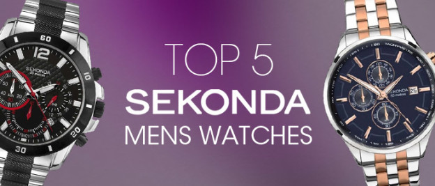 Top 5 Men's Sekonda watches under £100