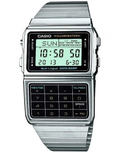 Casio Unisex Illuminator Databank Digital Bracelet Watch £42.95