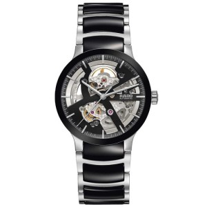 Rado Centrix Black Ceramic Skeletal Bracelet Watch £1,440