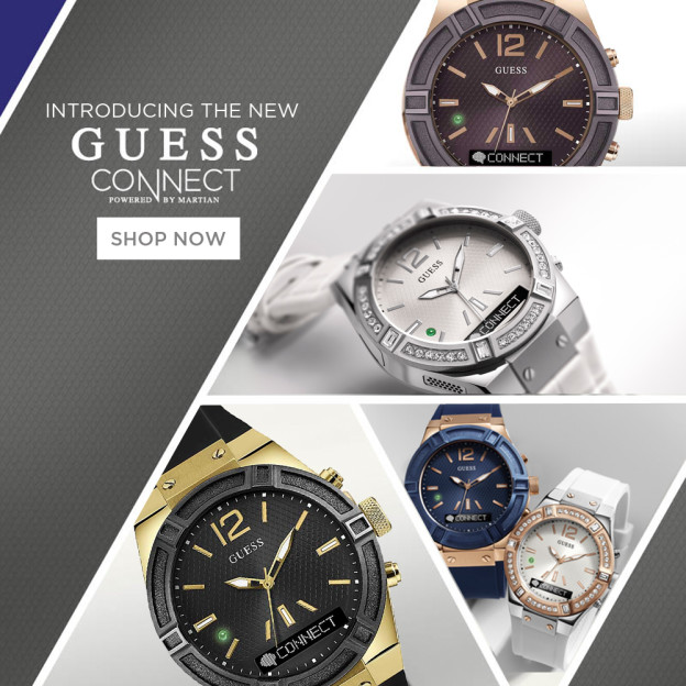 New Guess Connect Watches