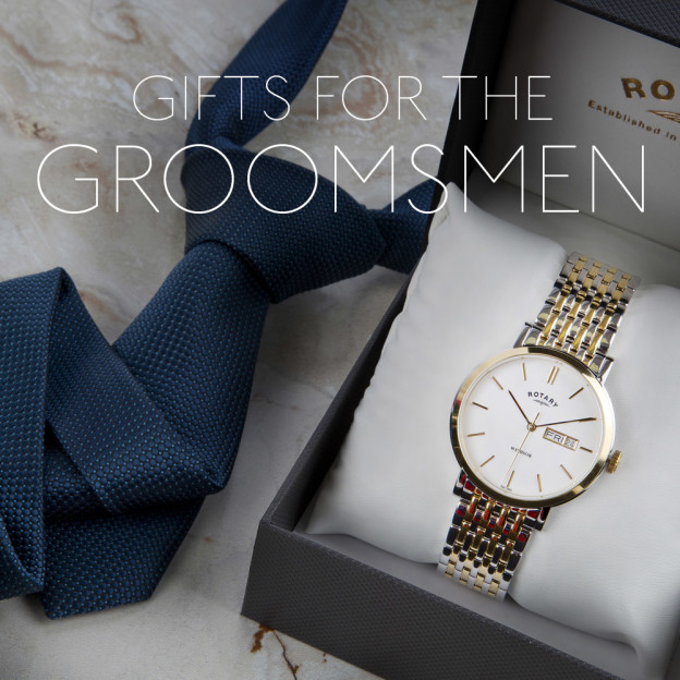Groomsmen: Get them something they'll appreciate