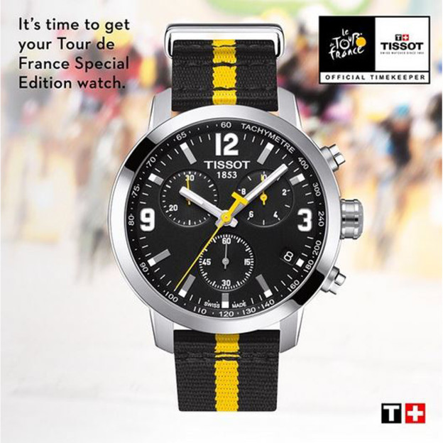 Tissot Watches: Official Timekeepers for the Tour de France